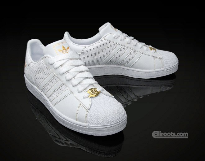 Adidas Originals Superstar II Mens Shoes gold/white kicks.