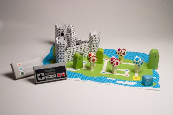 Mario World Board Game