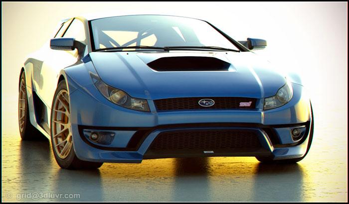 Concept: Subaru WRX STI