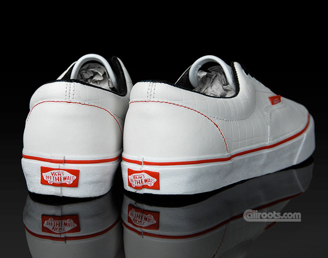 Vans Era White Crocs