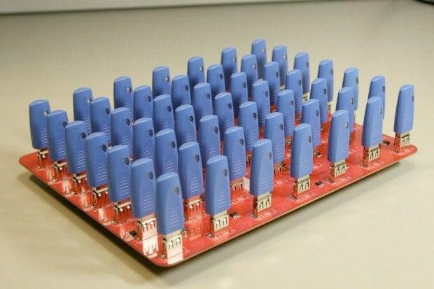 49-Port USB Hub