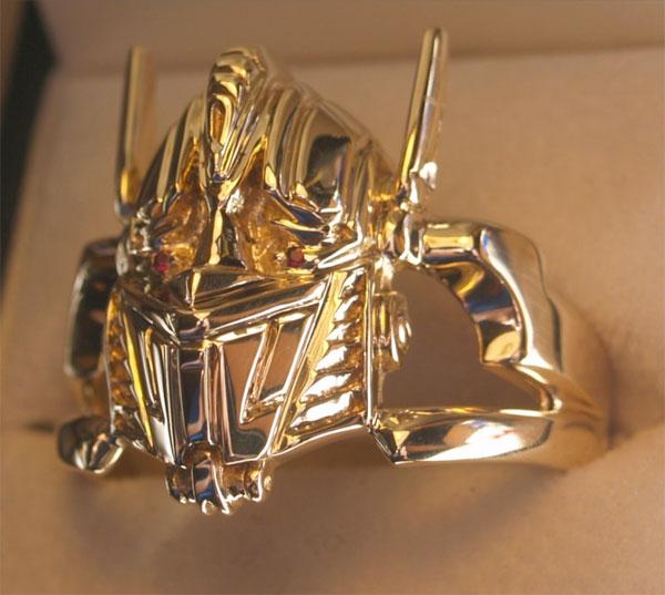 Optimus Prime Ring