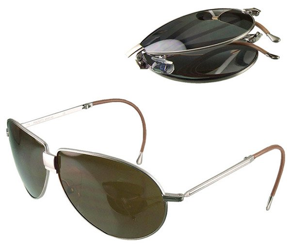 folding aviator sunglasses