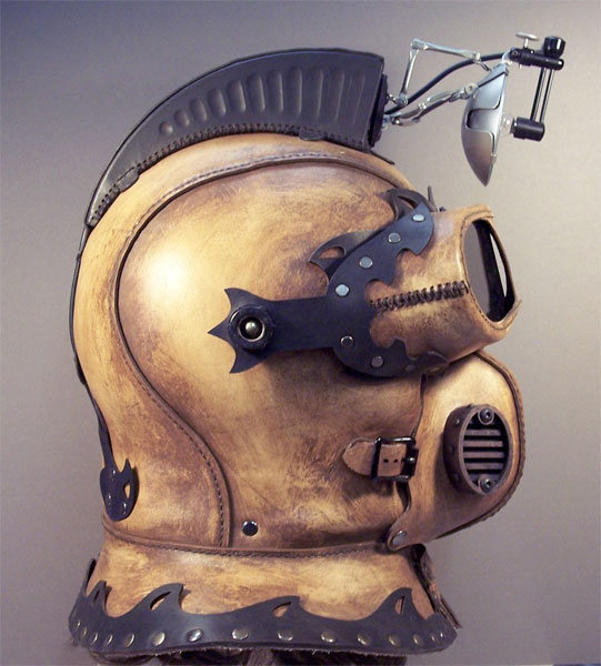 Steampunk Explorer Helmet