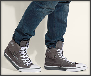 Seale Fold-Down Hi-Tops