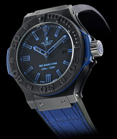 Hublot Black/Blue Watch