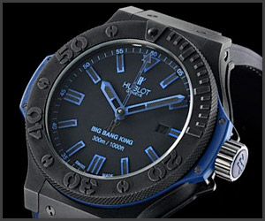Hublot Black/Blue Watch