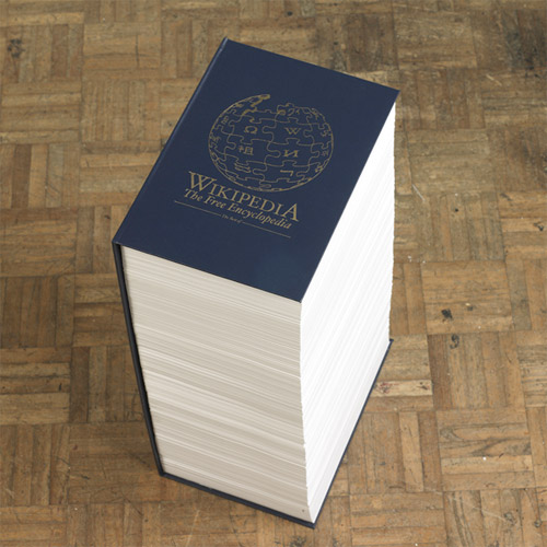 Wikipedia: The Book