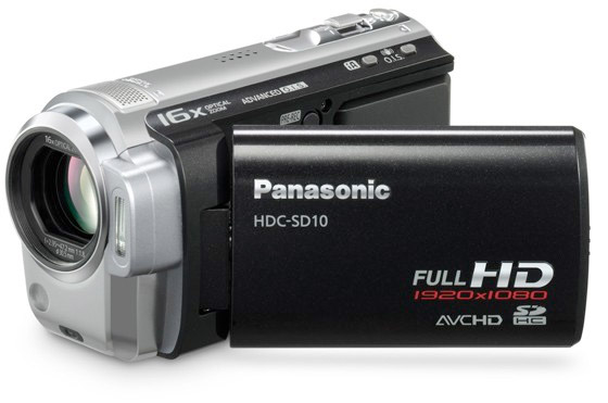SD10/TM10 Camcorders