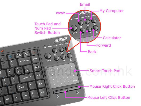 Entertainment Slim Keyboard