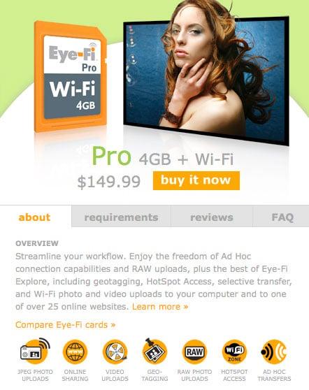 Eye-Fi Pro SD Card