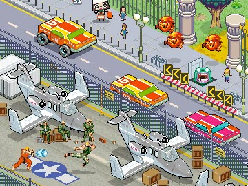 Video Game Pixel Poster