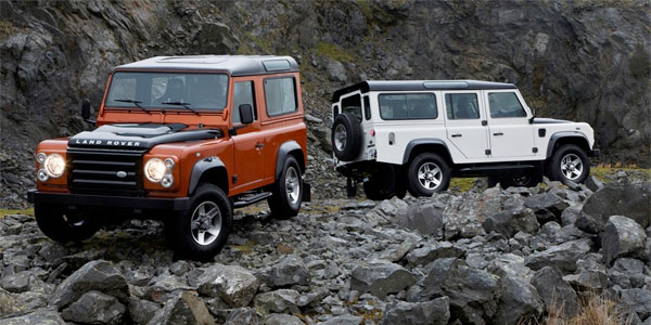 Land Rover: Fire and Ice