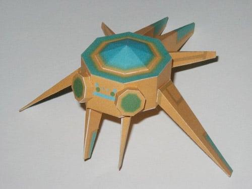 StarCraft PaperCraft Kit