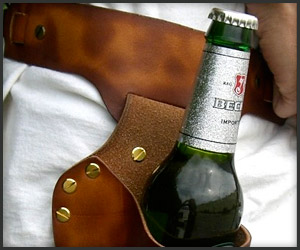 Leather Beer Holsters