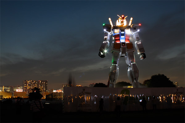 Photos: Life-Sized Gundam