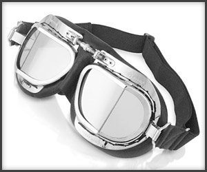 Bentley Leather Goggles