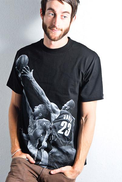 Kobe vs. LeBron T-shirt