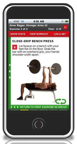 App: Men's Health Workouts