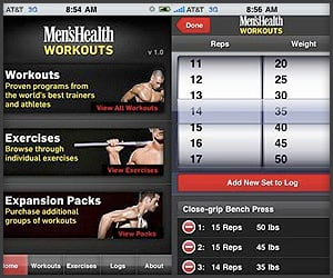 App: Men's Health Workouts