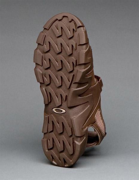 Impact Crater Sandals