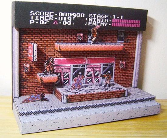 Papercraft Ninja Gaiden