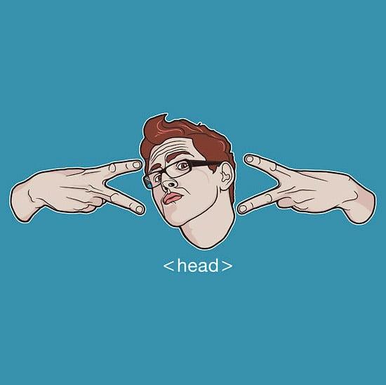 Geek Hand Sign Tee