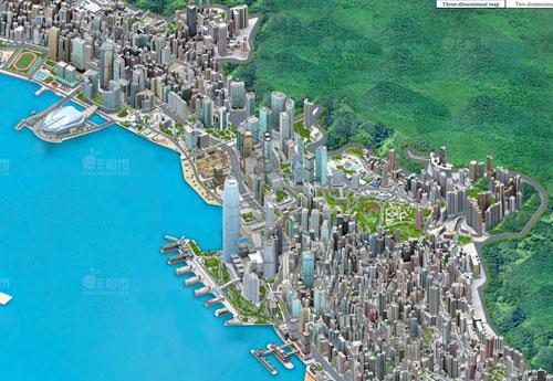 Hong Kong Pixel Map