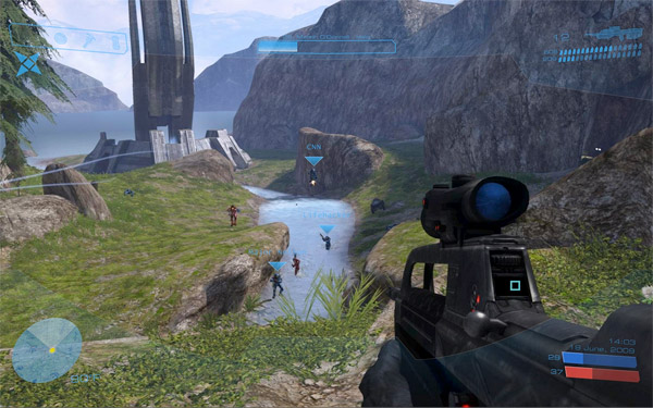 Custom Halo 3 Desktop