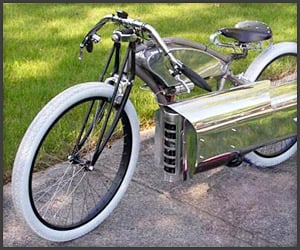 Pulsejet Bike Engine