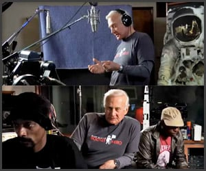 Buzz Aldrin x Snoop Dogg