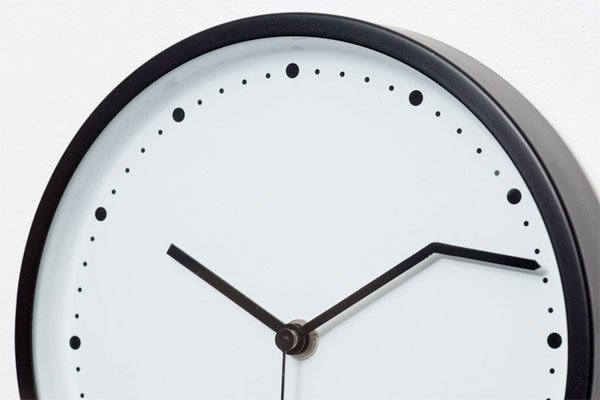 On Time Wall Clock ... Great Pictures