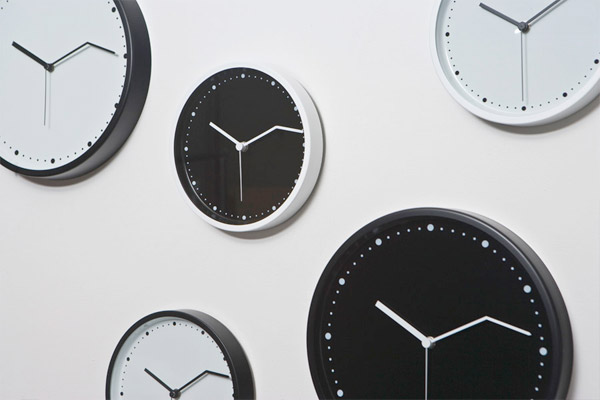 Perfect On Time Wall Clock ... Home Design Ideas