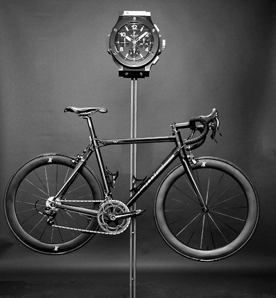 Hublot All Black Bike