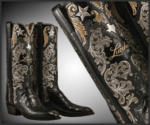 Lucchese 125 Years Boots