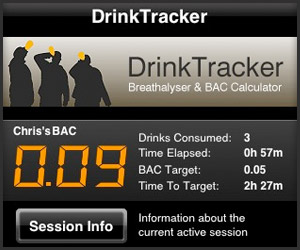 Iphone App: DrinkTracker