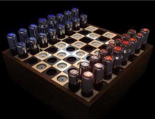 Vacuum Tube Chess