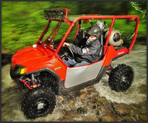Video: Jet Turbine ATV