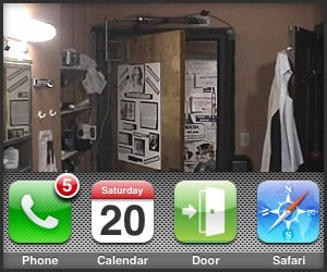 iPhone App: iDoor