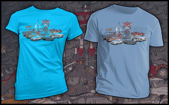 Chariots Retired T-shirt