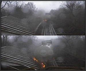 Video: Train vs. Tornado