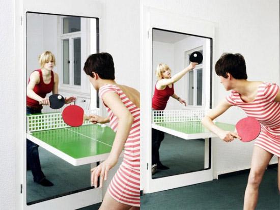 Concept: Ping Pong Door