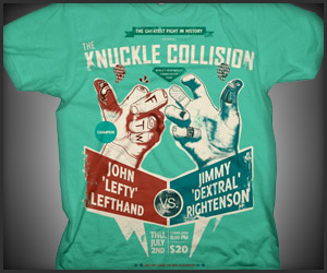 The Knuckle Collision Tee