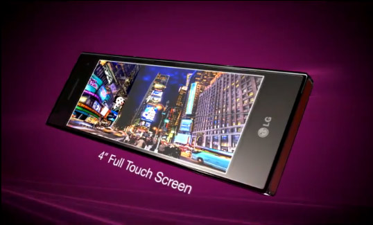 Video: LG Chocolate BL40