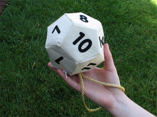 d20/d12 Bag Of Holding