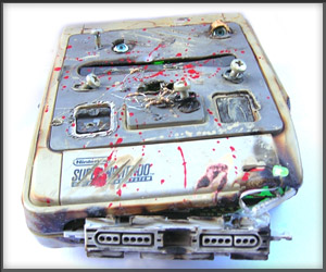 DIY: Game Over SNES