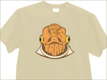 Ackbarpography T-shirt