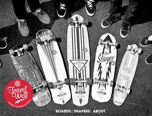 Travel Well Skateboards