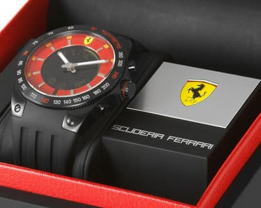 Ferrari Lap Time Watch