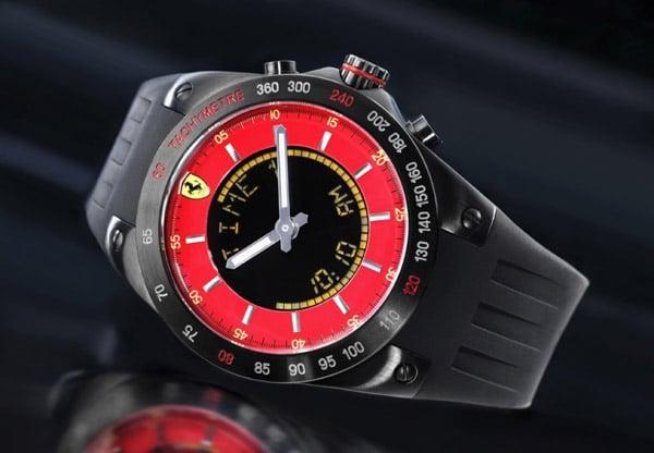 Ferrari Lap Time Watch